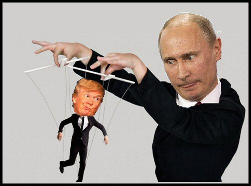 Image result for The Hypothetical Secret Communications Channel Kremlin - Trump